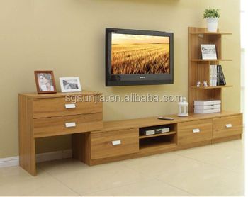 MDF Wooden TV Stand Table TV Showcase For Living Room Furniture Part 52