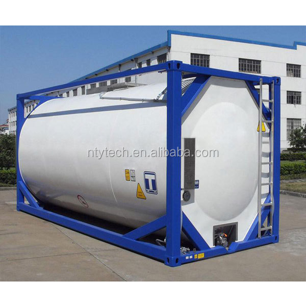 20FT Cryogene Vloeibare LNG/LC2H4/LCO2 Tank Container
