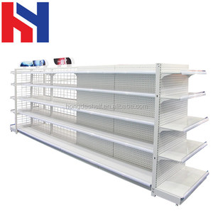 Back Net Models Convenience Store Shelves Wire Gondola Shelf