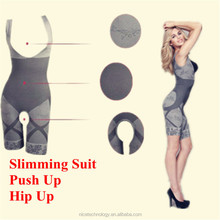 Wholesale Natural Bamboo Charcoal Slimming Suit ,Magic Women Slimming Body Shaper