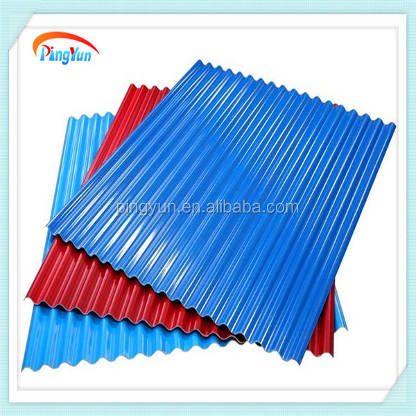 Color PVC Roofing Sheet/price Of Corrugated Pvc Roof Sheet/upvc Plastic  Sheet