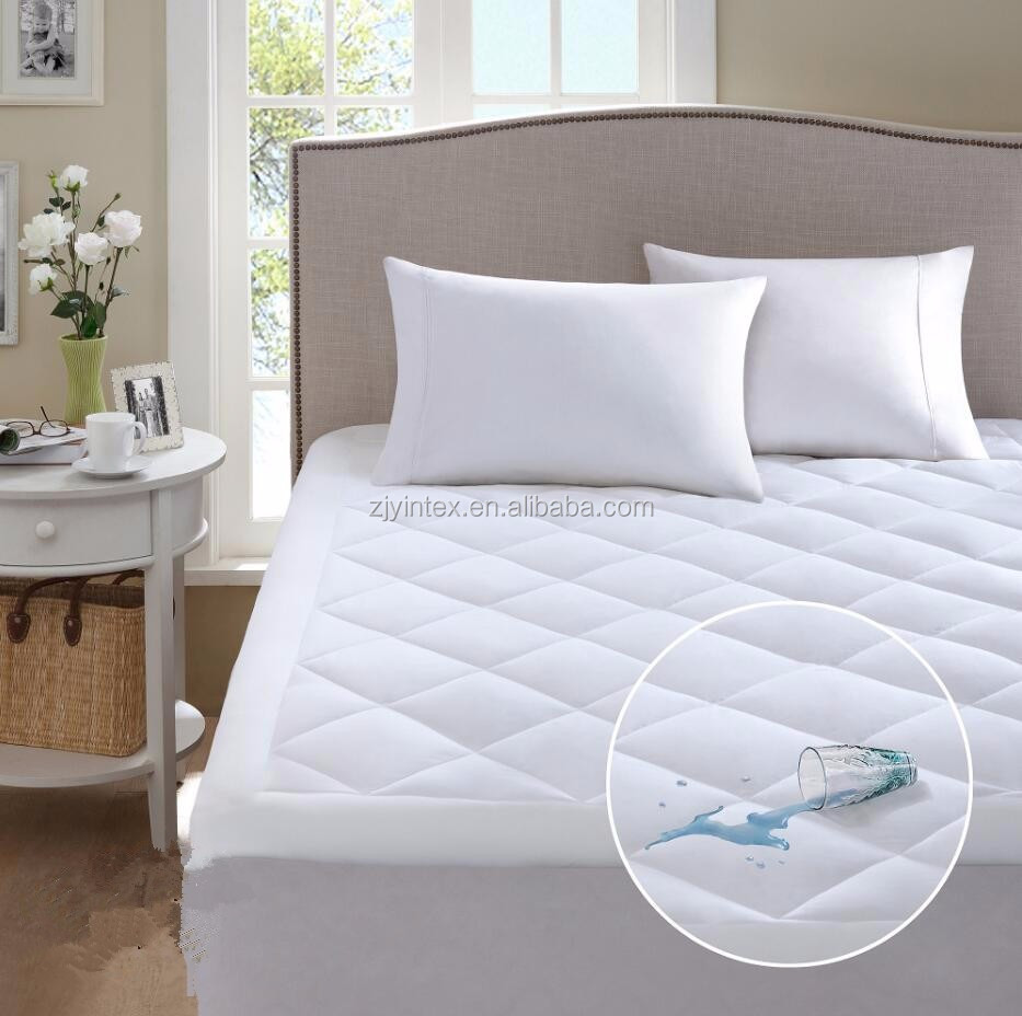 Wholesale Thin Protector Hotel Fitted Mattress Topper
