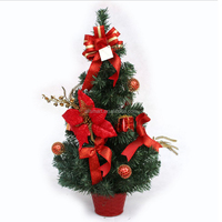 New Products 2017 Christmas Tree Ornament Mini Table Christmas Tree For Party Decoration