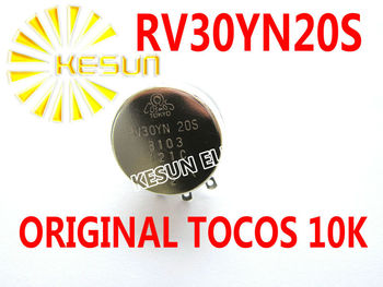 RV30YN20S B103 Original TOCOS RV30YN 3W 10K OHM Single Turn Rotary Carbon Film Potentiometer