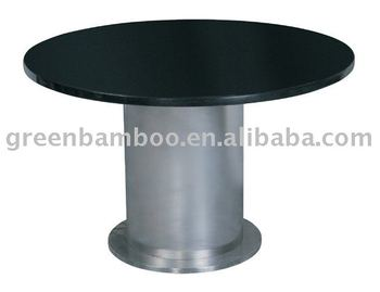 Modem Stainless Steel Table Leg