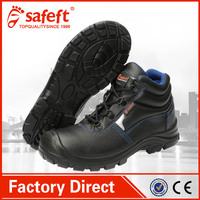 Black Most comfortable steel toe waterproof work shoes best safety boots / special purpose shoes
