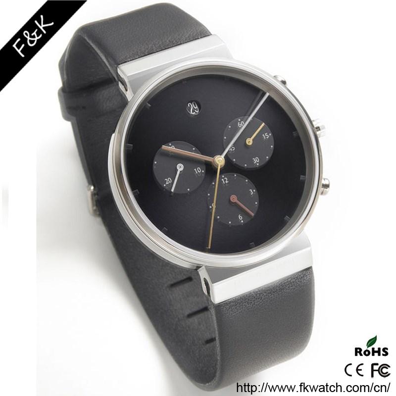 top quality mens luxury 3 sub king quartz chronograph