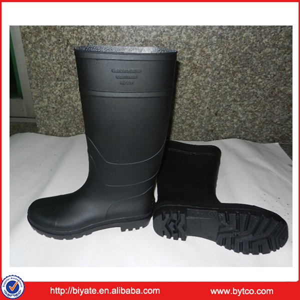 Best-selling cheap pvc men's safety shoes industrial boots