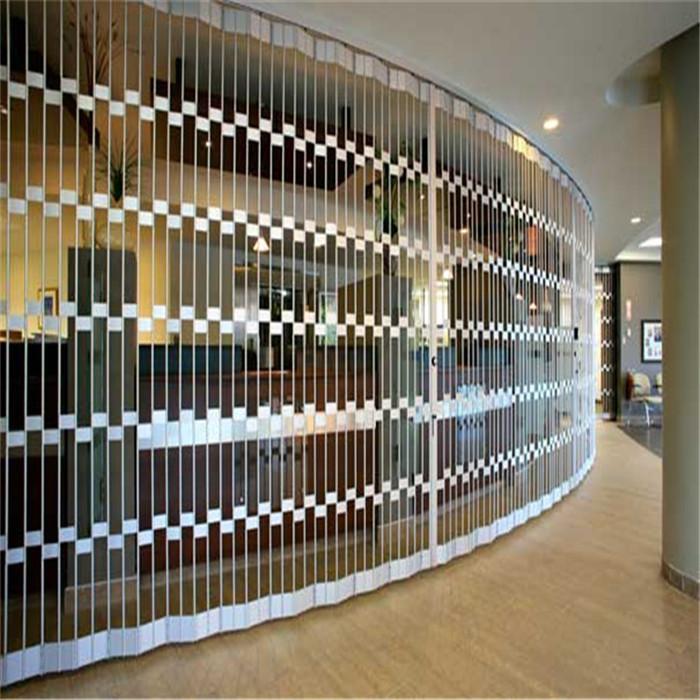 Modern Grill Designs Sliding Aluminum Frame Rolling Door