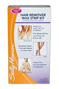Hair Remover Wax Strip Kit For Body, Legs, Arms & Bikini By Sally Hansen