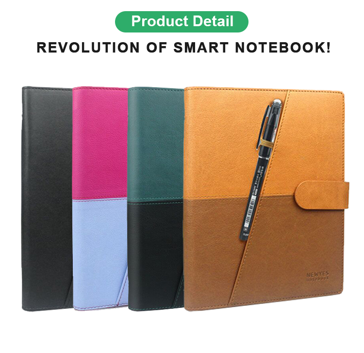 Newyes Hot Sales for E-commerce A5 Executive Size Everlasting Reusable Smart Notebook