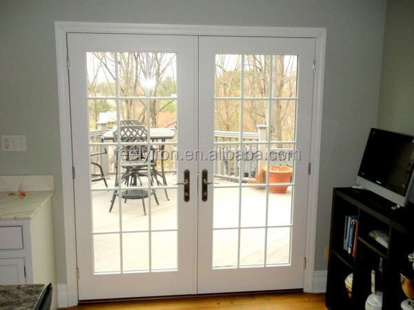 Simple Style White Steel French Doors Exterior Sd 016 Buy Steel