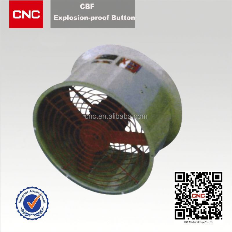 CBF electric supplier explosion proof axial flow fan