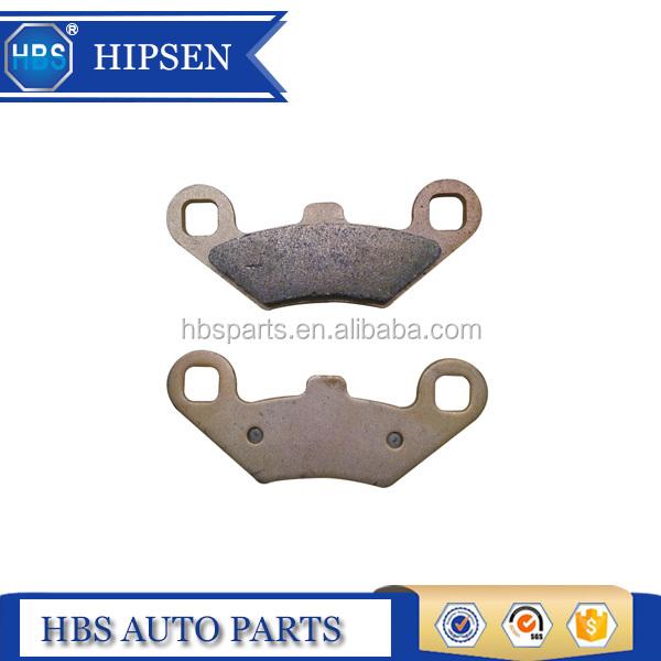 Rear Carbon fiber Brake Pads for POLARIS 2200901 2201149 2201398 2202412 220345