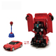 robot toy transform rc car with sound system