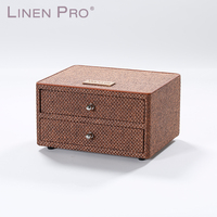 Latest Design Hotel Amenity Set DrawerPuLeatherBox For Jewelry