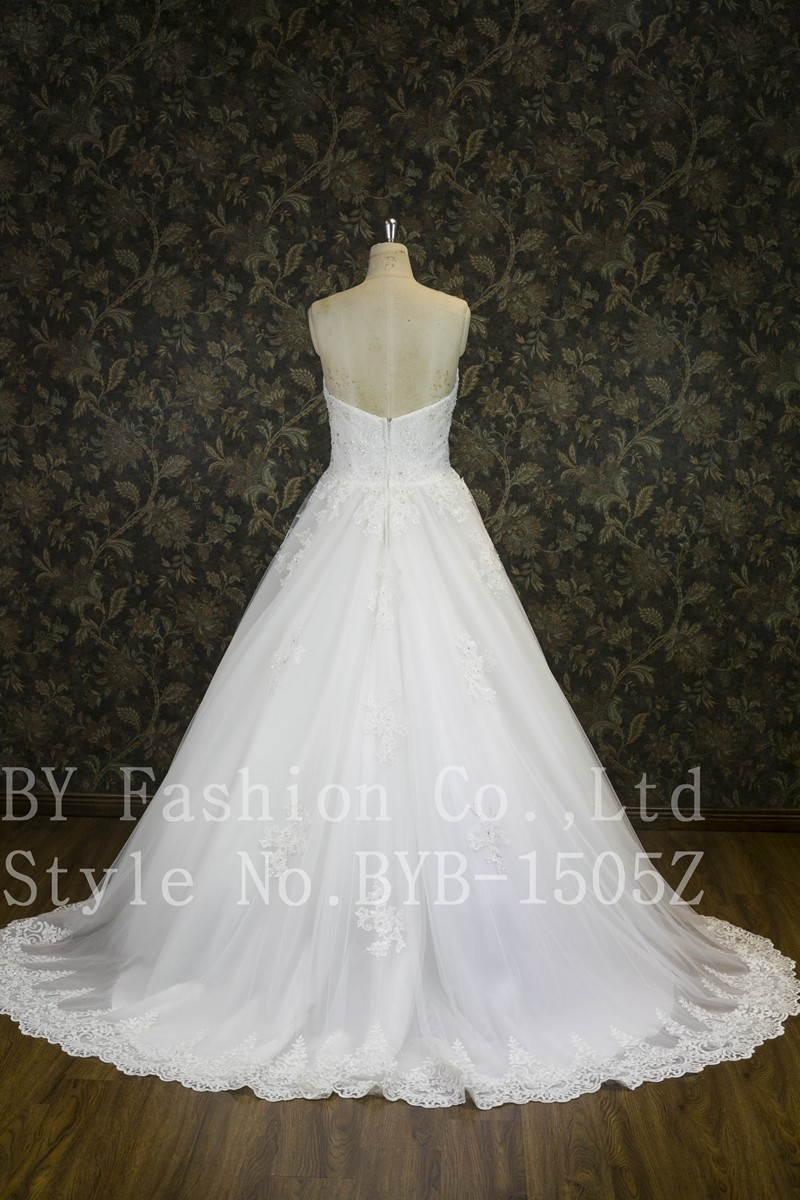 Best Selling Luxury Beaded Lace Detachable Bridal Veils Ball Gown ...