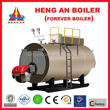 Weishaupt Burner Diesel Oil Fire Tube Boiler With Steam Output ...