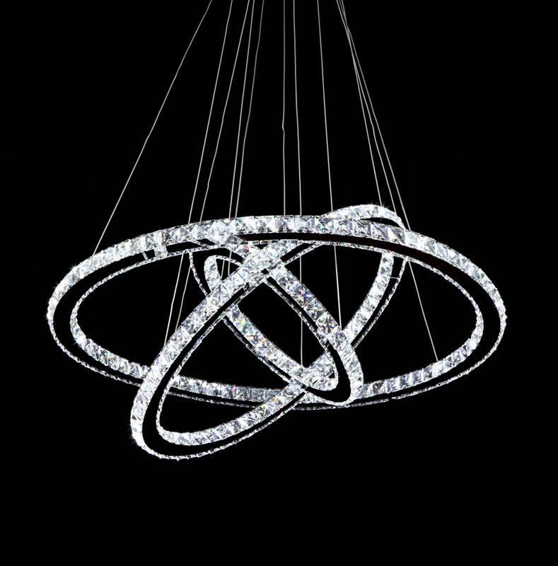 Modern-Chrome-Chandelier-Diamond-Ring-LED-Crystal