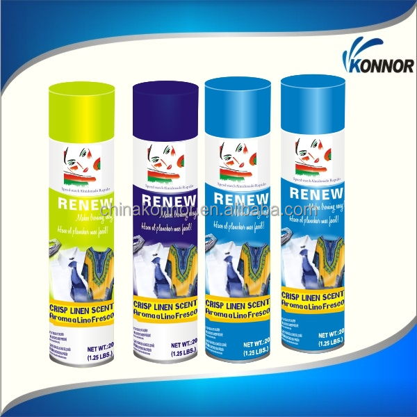 rinnovare stiratura amido spray su amido spray