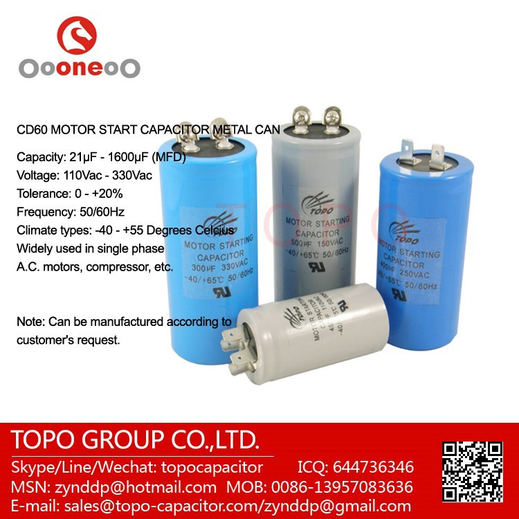 500uf Motor Run Capacitor, 500uf Motor Run Capacitor Suppliers and ...