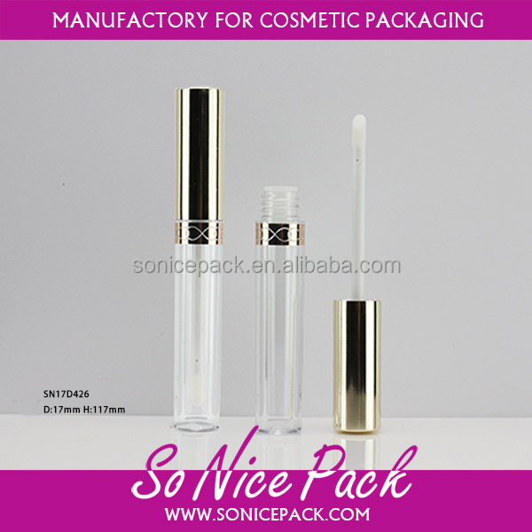 wholesale plastic empty 10 ml lipgloss tube