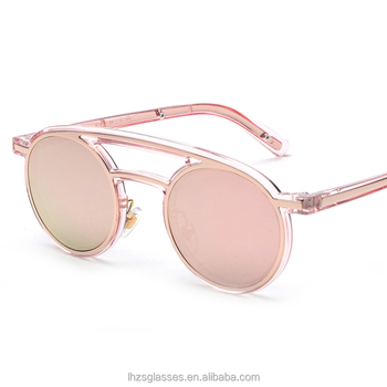 sepcial crazy sunglasses mirror lens rounded frame metal glasses old school  european style sunglasses wholesale 2a47ed536c3