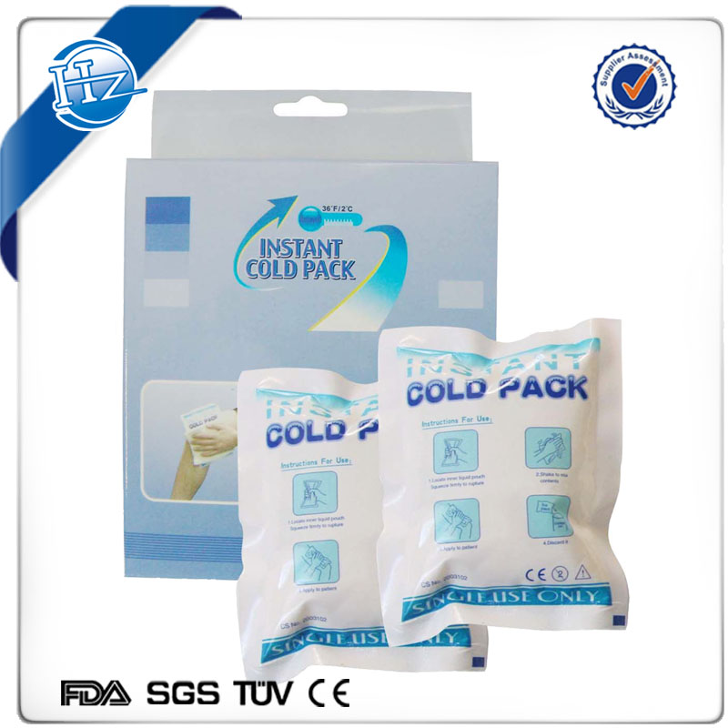 Disposable Cold Gel Ice freezer Pack for Frozen Seafood Storage and shipping Food Delivery, Ice Gay gel