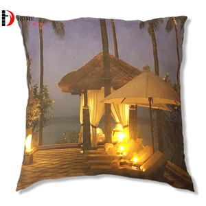 Factory Direct Daily Decorative Sparkling Lights Daily Printed LED Cushion