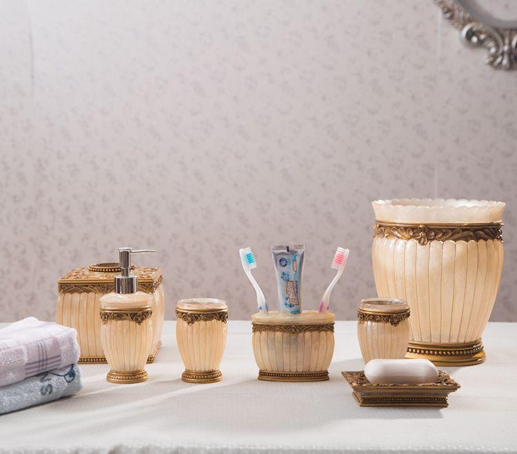 Modern Bath Decorative Bathroom Sets