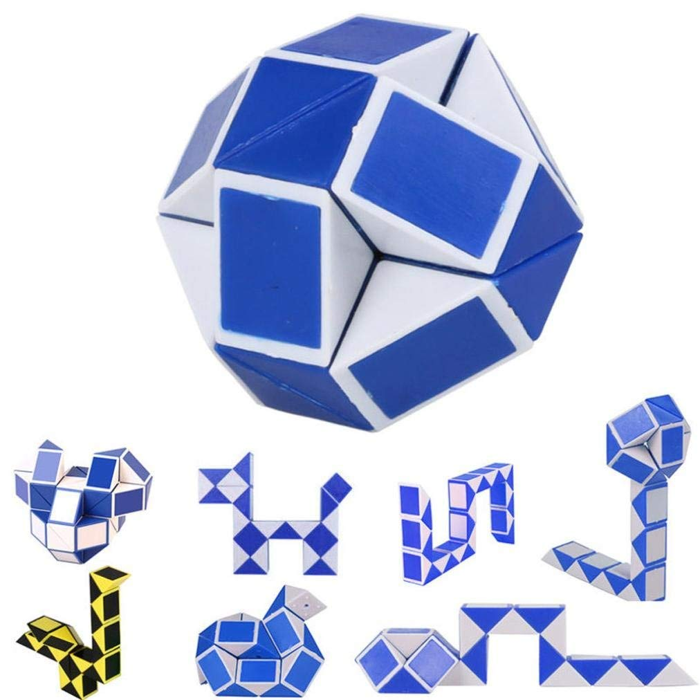 Toys & Hobbies Magic Cube Puzzle Magic Ruler Cube Snake Twist Puzzle Educational Toy For Children 6 Youth Adult Boy Girl Good Companions For Children As Well As Adults Puzzles & Games