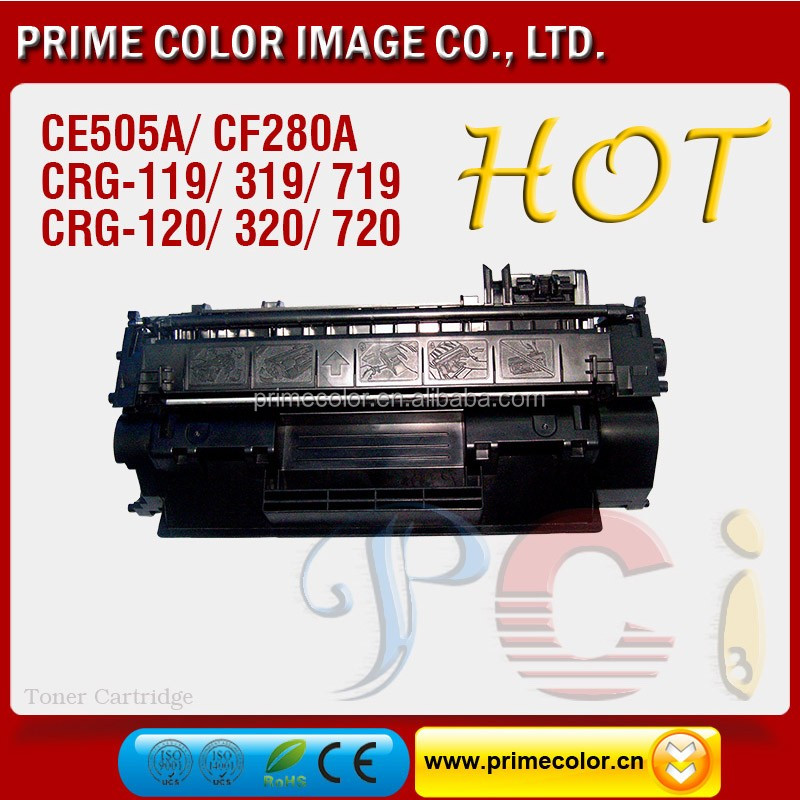 CE505A/x Toner cartridge kompatibel untuk canon LBP 6300 printer
