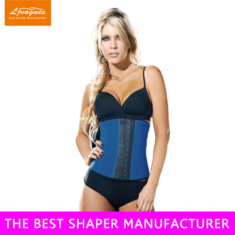 High Quality print latex waist cincher 7