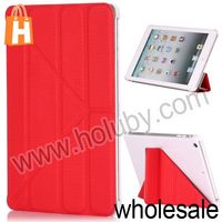 Basketball Pattern Triangle Stand Flip Cover Leather Case for iPad Mini/Retina iPad Mini (6 Colors Optional)