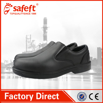 Black Lightweigh Kfc Non Slip Hard Ladies Mcdonald S Safty Shoes