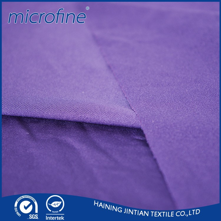 China supplier polyester 4 way stretch spandex fabric for fashion dress