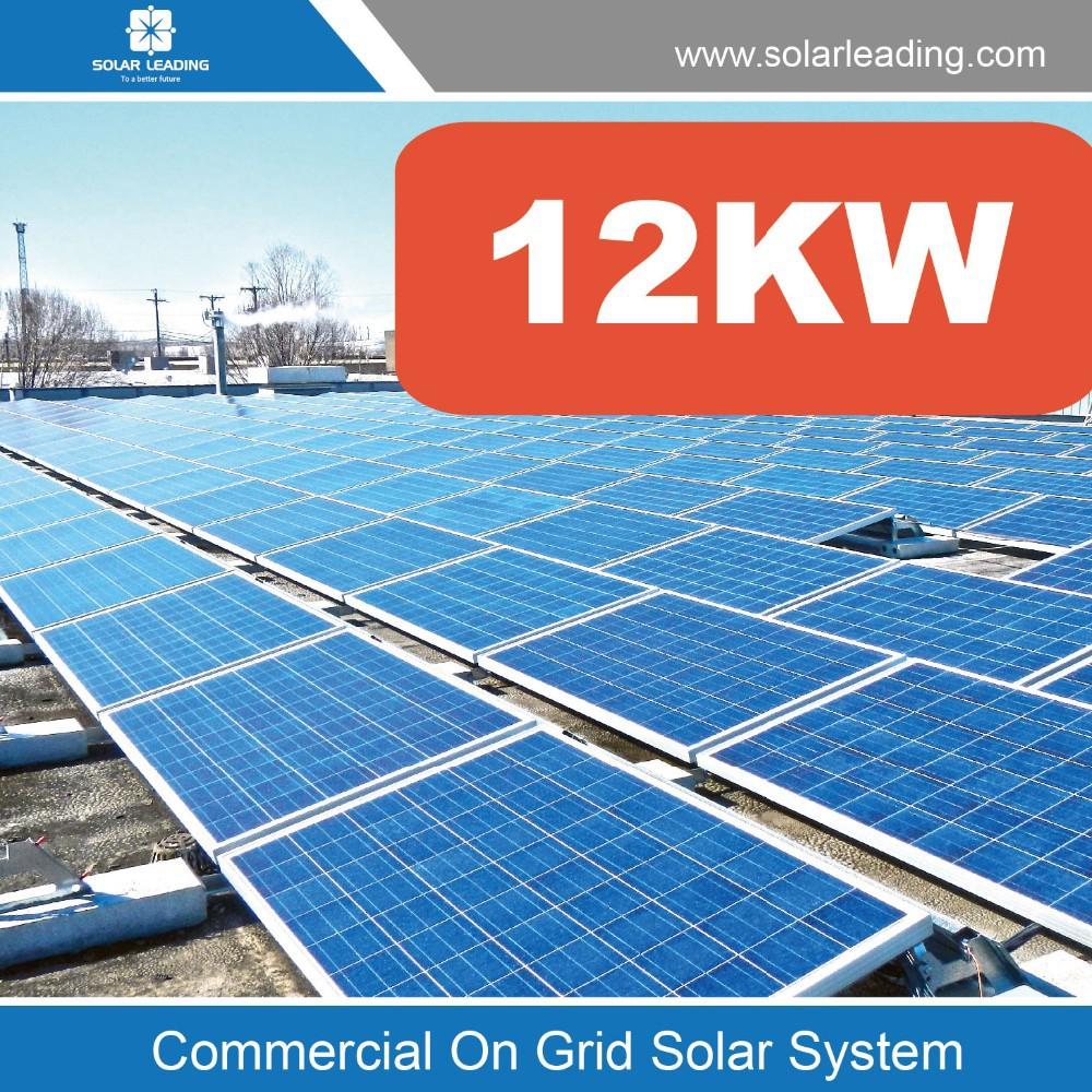 Photovoltaic Solar Electric System Solar Panel System 12kw Turn Key ...