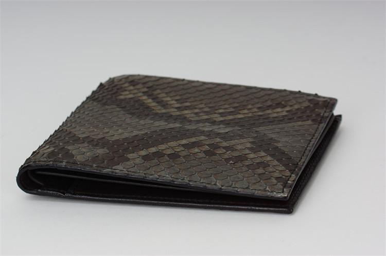 Heren Portemonnee Merk.Jranter Luxe Python Snakeskin Beste Heren Portemonnee Case Merken