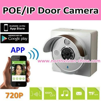 Poeip Front Door Video IntercomSupporting App On Iphoneandroid - Front door camera iphone