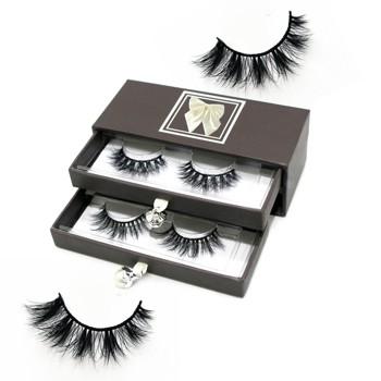 df281c7dc4c Mink Eyelashes Full Strip 3D Mink Lashes Vendors Customized Eyelash  Packaging Box