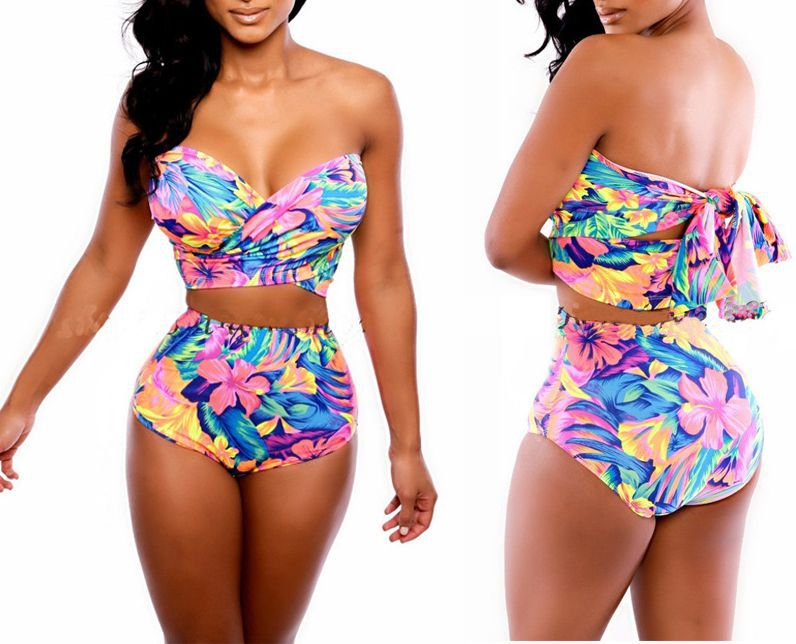 women's bikinis Bring some sass and style to the shoreline with our wide variety of bikinis. Get as much coverage as you want with a tankini top and high waisted bottom or as little as you want with a triangle top and Brazilian bikini bottom.