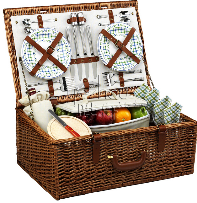Picnic Basket Items : Hot sell wicker picnic basket person buy