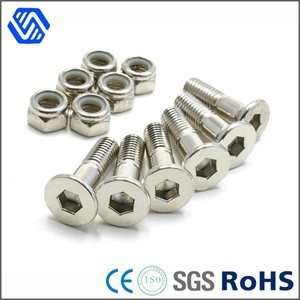 Stainless Steel Nylon Lock Nut Socket Head Cheap price bolt and nut