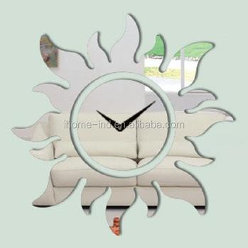 sun shape clocks best selling retail items sun shape sticker clocks