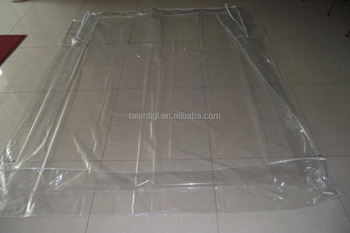 Extremely Large Storage Bags For Mattresses Vacuum Seal Pvc Bag Clear