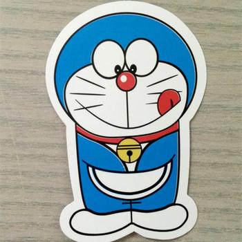 cute doraemon die cut vinyl stickers self adhesive waterproof