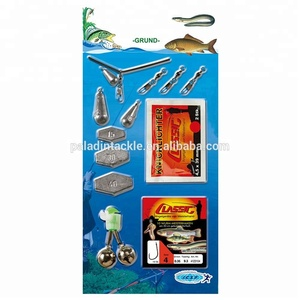 PALADIN OEM Fishing Tackle Tool Set / Kit with Lead , Swivel , Chemical Light , Snelled Tied Hooks , Bell