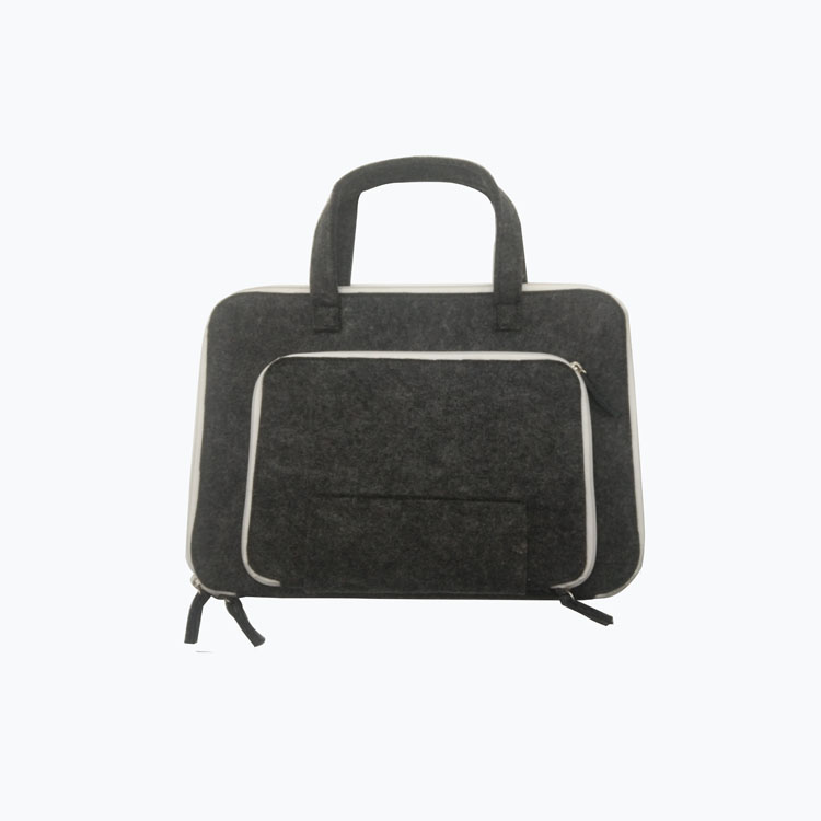 15, 15.6-Inch Felt Shockproof Laptop Case Bag with Handle Portable Sleeve for Apple Macbook, Acer, Asus, Dell, Lenovo, HP