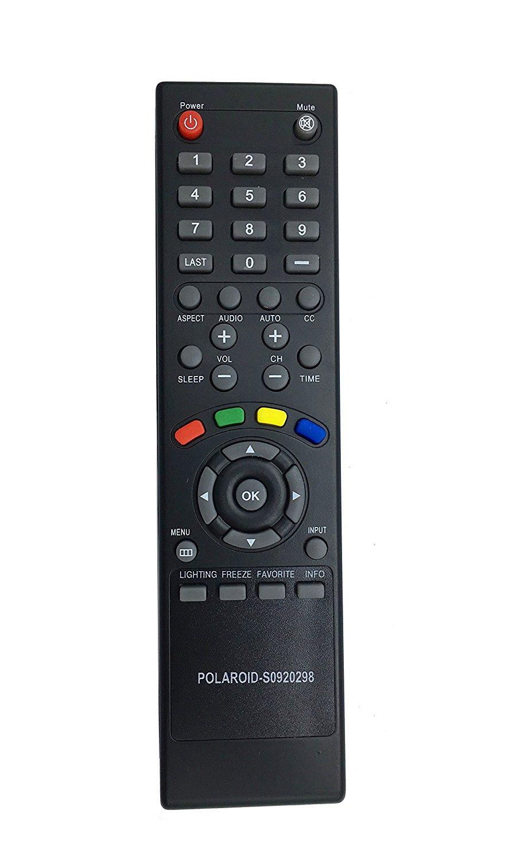 VINABTY Replaced Remote S0920298 fit for Polaroid S0920298 LCD TV 1521-TLUB 1521TLUB