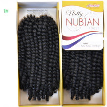 8-24inch spring twist crochet braid hair extension braids